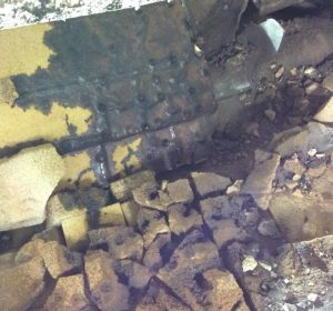 Rebuild Viessmann 950 resin brickwork damage biomass